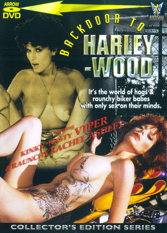 Cheap Backdoor To Harley-Wood 1 porn DVD