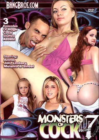 Cheap Monsters Of Cock 7 porn DVD