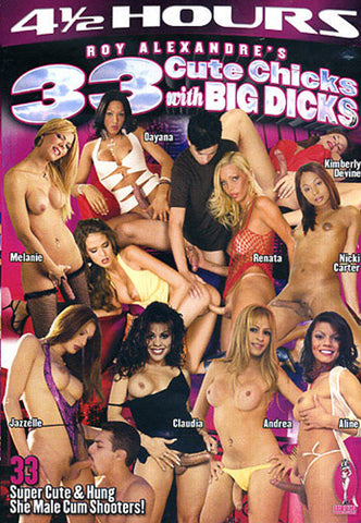 33 Cute Chicks With Big Dicks Sex DVD