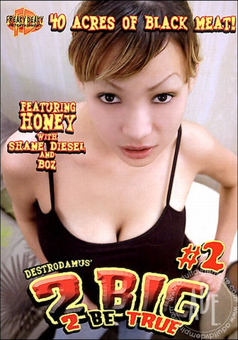 Cheap 2 Big 2 Be True 2 porn DVD