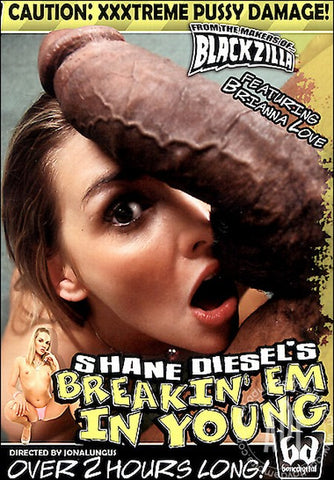 Cheap Shane Diesel's Breakin' Em In Young 1 porn DVD