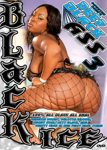 Deep Black Ass 3 XXX Adult DVD