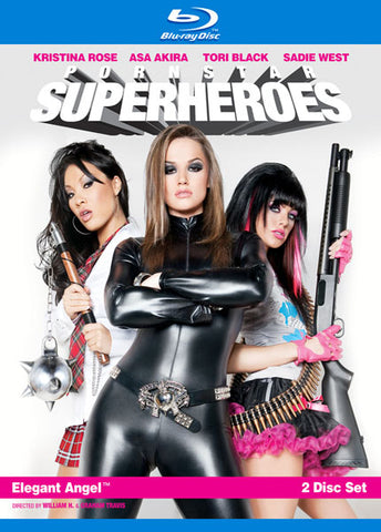 Cheap Pornstar Superheroes (2 Disc Set) (Blu-Ray) porn DVD