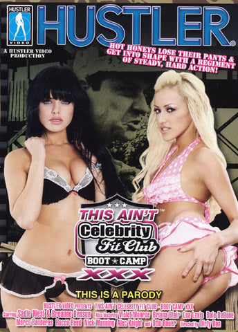 Cheap This Ain't Celebrity Fit Club Boot Camp XXX BluRay porn DVD