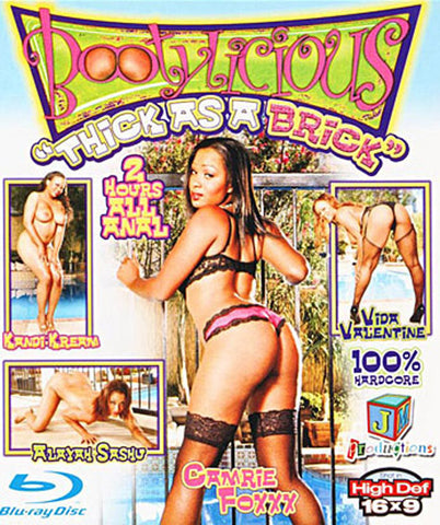 Cheap Bootylicious: Thick As A Brick (Blu-Ray) porn DVD