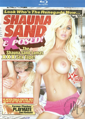 Cheap Shauna Sand Exposed! (Blu-Ray) porn DVD