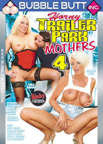 Cheap Horny Trailer Park Mothers 4 porn DVD