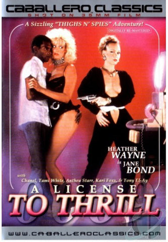 Cheap A License To Thrill porn DVD