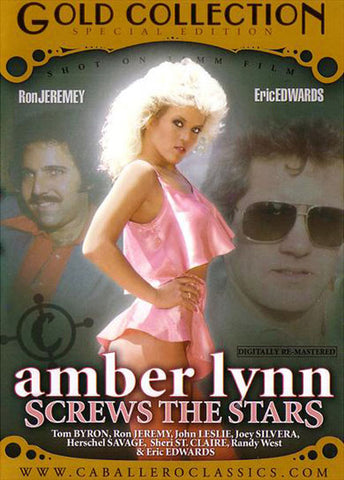 Cheap Amber Lynn Screws The Stars porn DVD