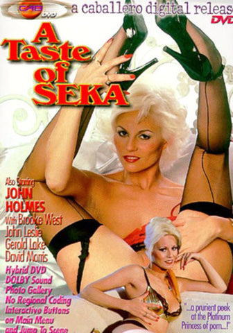 A Taste of Seka XXX DVD