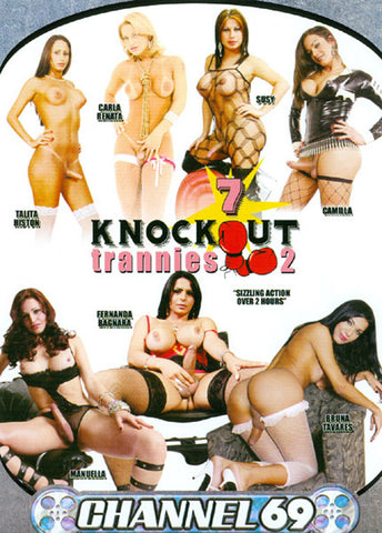 7 Knockout Trannies 2 Adult Movies DVD