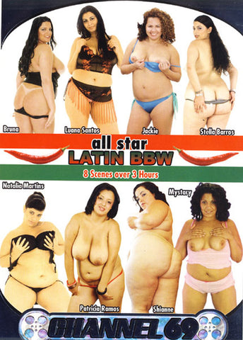 Cheap All Star Latin BBW porn DVD