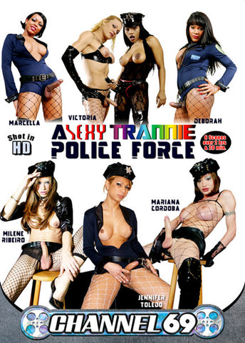 A Sexy Trannie Police Force Adult Movies DVD