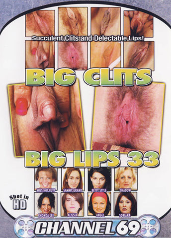 Big Clits Big Lips 33 Adult Movies DVD