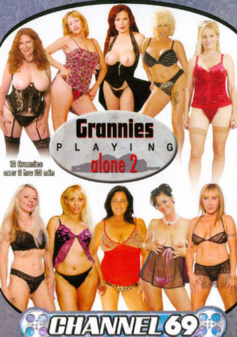 Grannies Playing Alone 2 Adult Movies DVD