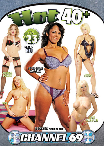 Hot 40+ 23 Adult DVD