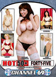Hot 50+ 45 Adult Movies DVD