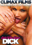 Girls Who Share Dick XXX Adult DVD
