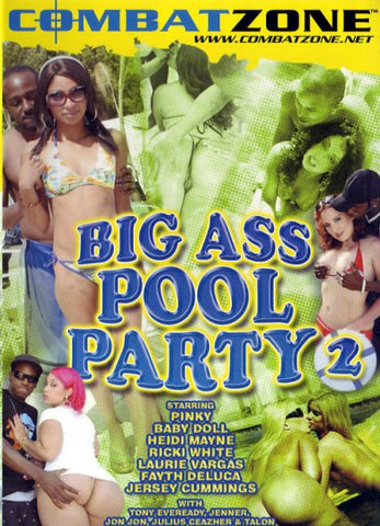 Cheap Big Ass Pool Party 2 porn DVD