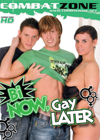Cheap Bi Now, Gay Later porn DVD