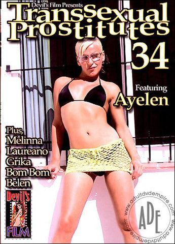 Cheap Transsexual Prostitutes 34 porn DVD