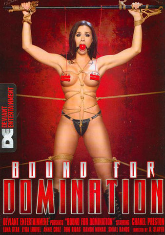 Bound For Domination Sex DVD