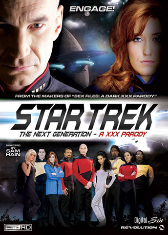 Cheap Star Trek The Next Generation: A XXX porn DVD