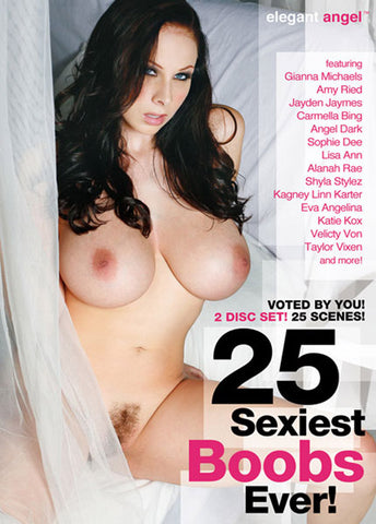 Cheap 25 Sexiest Boobs Ever (2 Disc Set) porn DVD