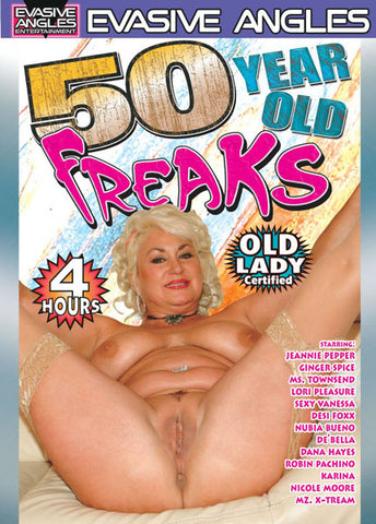 Cheap 50 Year Old Freaks porn DVD