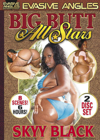 Big Butt All Stars Skyy Black Porn DVD