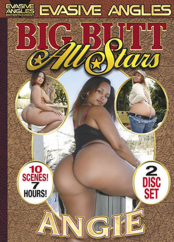 Big Butt All Stars: Angie (2 Disc Set) XXX DVD