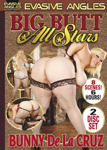 Big Butt All Stars: Bunny De La Cruz (2 Disc Set) XXX DVD