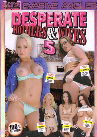 Desperate Mothers & Wives 5 Adult Movies DVD