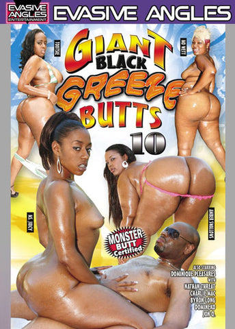 Giant Black Greeze Butts 10 XXX Adult DVD