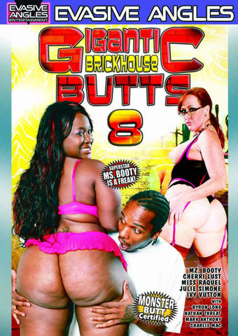 Gigantic Brickhouse Butts 8 XXX Adult DVD