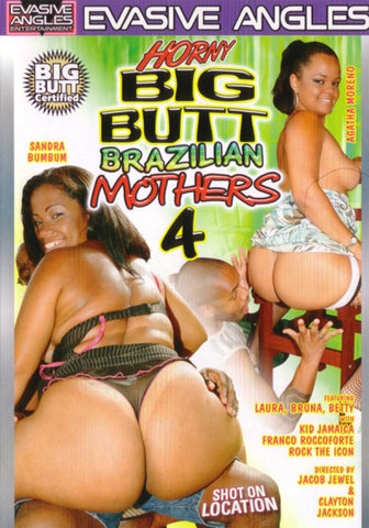 Horny Big Butt Brazilian Mothers 4 XXX Adult DVD