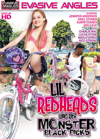 Cheap Lil' Redheads Who Ride Monster Black Dicks porn DVD