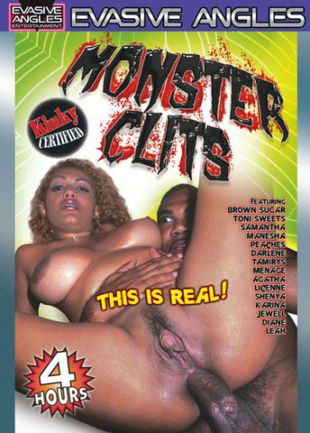 Monster Clits Adult DVD