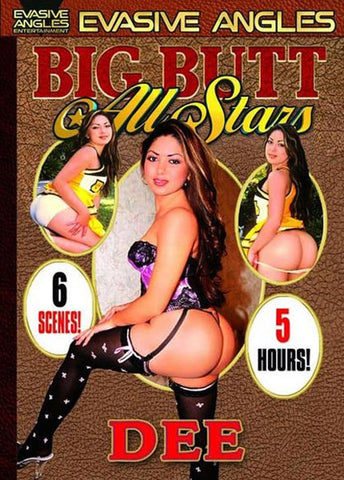 Cheap Big Butt All Stars: Dee porn DVD