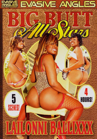Cheap Big Butt All Stars: Lailonni Ballixxx porn DVD