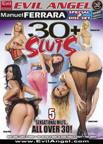 Cheap 30+ Sluts (2 Disc Set) porn DVD