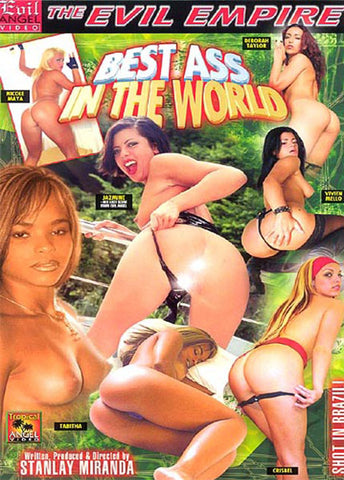 Best Ass In The World Porn DVD