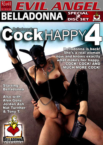 Cheap Belladonna's Cock Happy 4 porn DVD