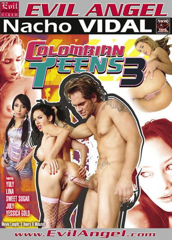 Colombian Teens 3 Porn DVD