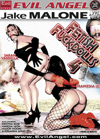 Fetish Fuck Dolls 4 Sex DVD