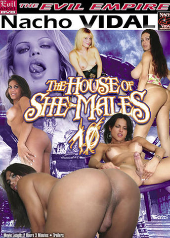 House Of She-Males 10 Sex DVD