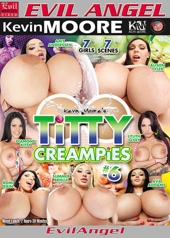 Cheap Titty Creampies 6 porn DVD