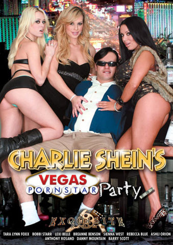 Charlie Shein's Vegas Pornstar Party (3 Disc Set) Adult DVD
