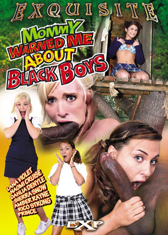 Cheap Mommy Warned Me About Black Boys 1 porn DVD