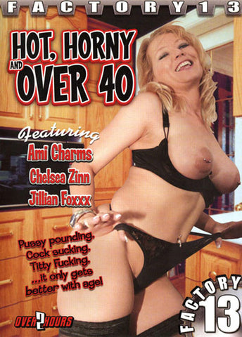 Cheap Hot, Horny And Over 40 porn DVD